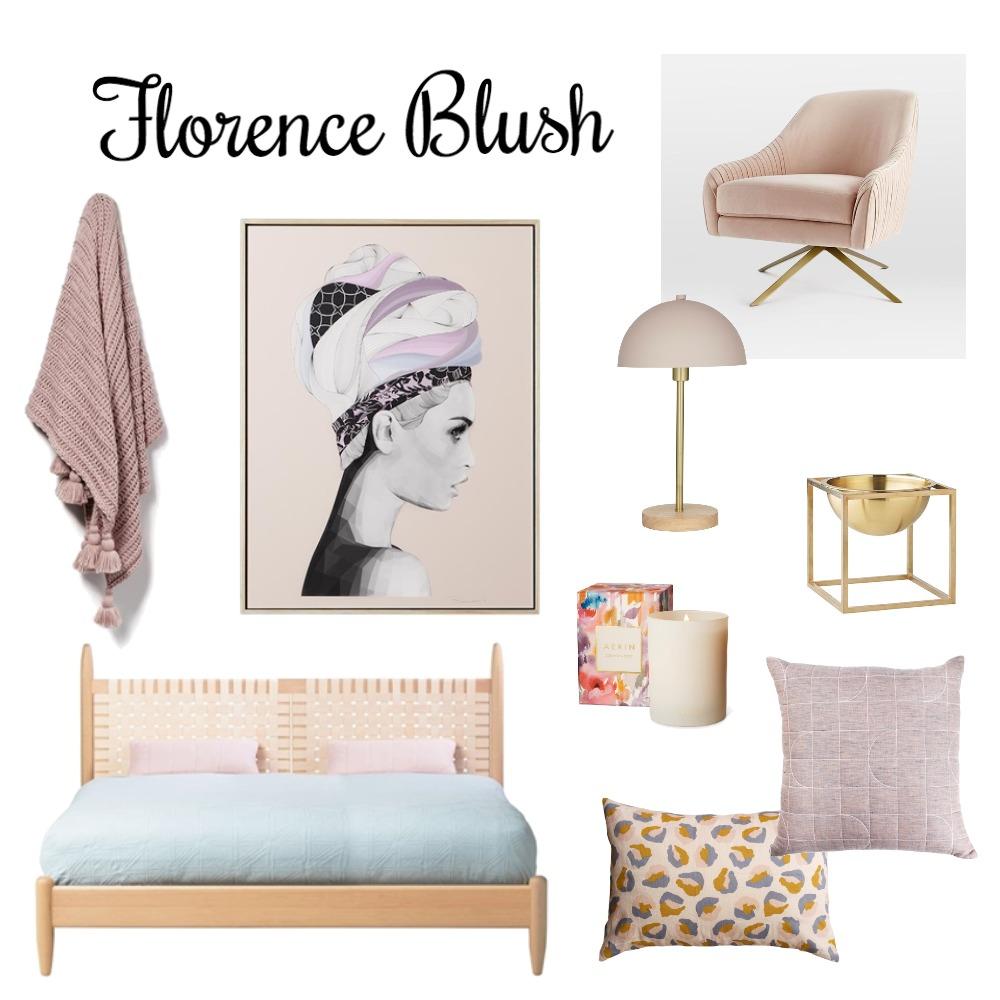 Florence Blush Mood Board by Interior Designstein on Style Sourcebook