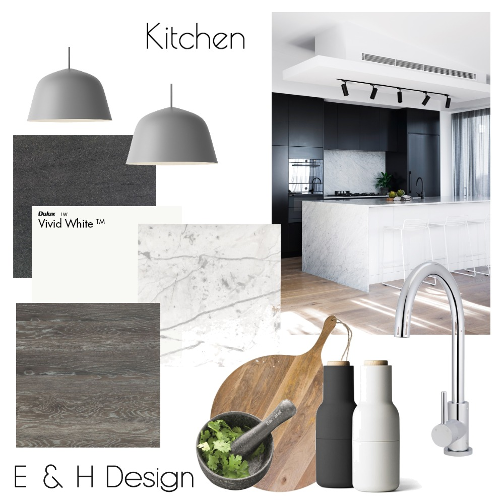 Kitchen Mood Board by E & H Design on Style Sourcebook