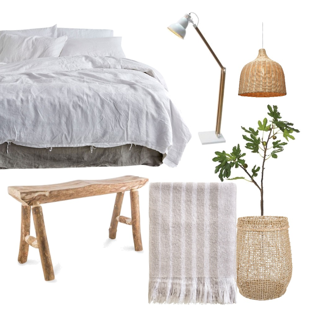 Natural Bedroom Mood Board by theglobalvilla on Style Sourcebook