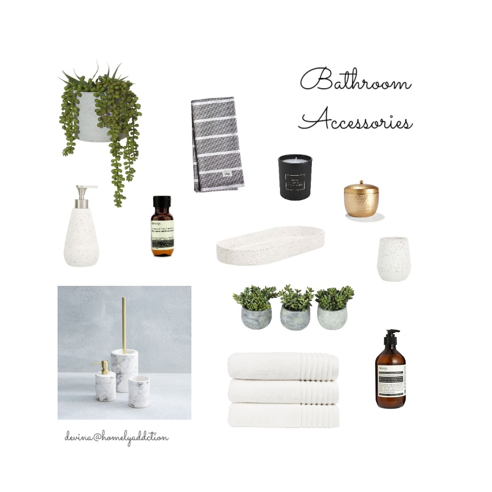 Maison Carnegie Bathroom Mood Board by HomelyAddiction on Style Sourcebook