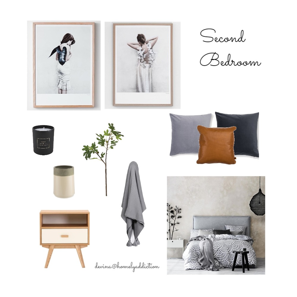 Maison Carnegie second bedroom Mood Board by HomelyAddiction on Style Sourcebook