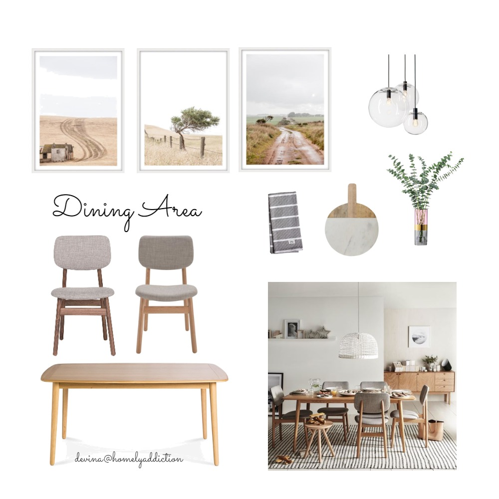 Maison carnegie dining Interior Design Mood Board by HomelyAddiction on Style Sourcebook
