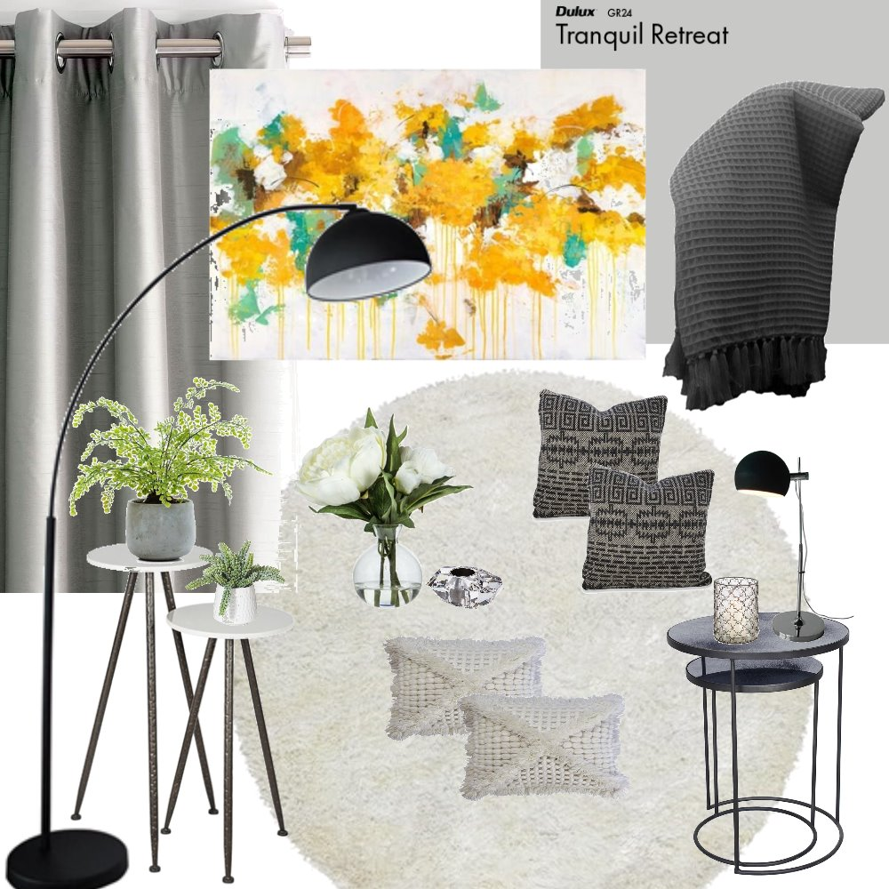 warming a minimalist living room Mood Board by Pauladesigns on Style Sourcebook