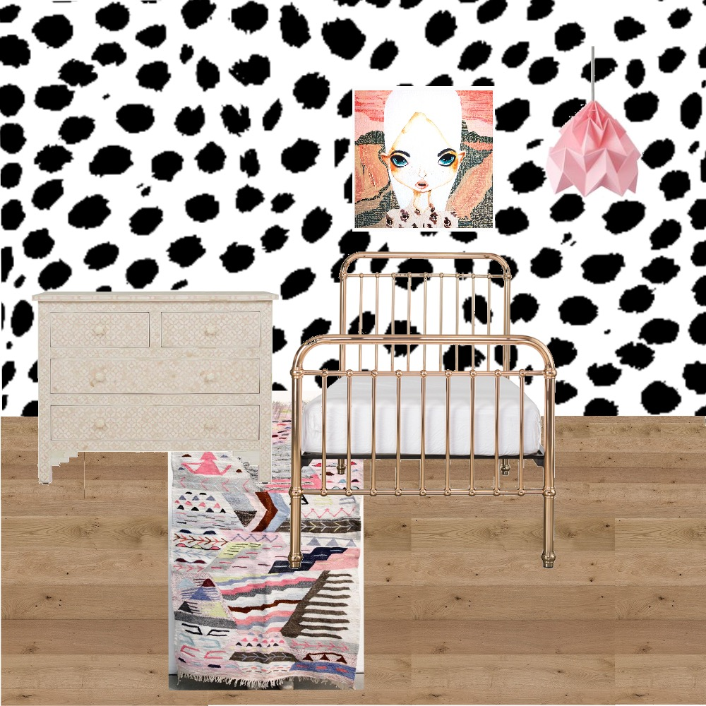 Girls Bedroom Mood Board by TheDesignSpace on Style Sourcebook