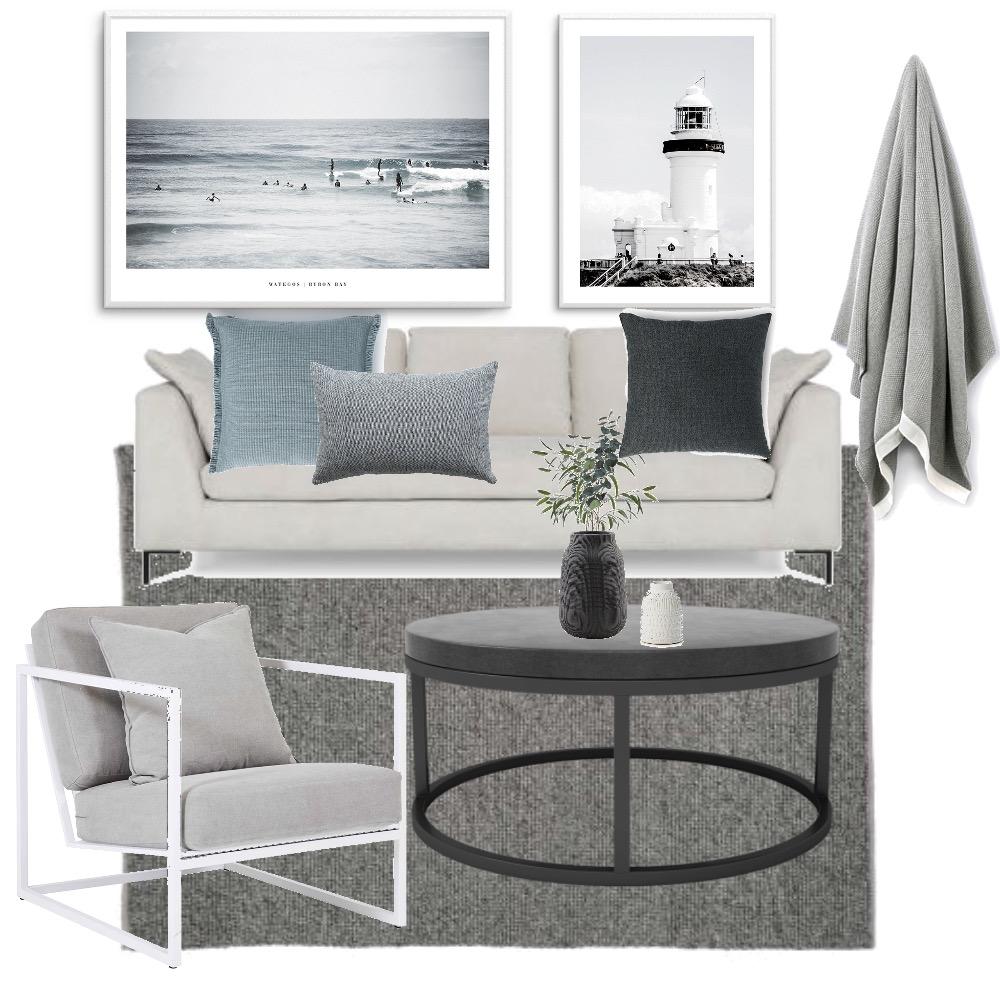 Coastal Luxe Mood Board by Meg Caris on Style Sourcebook