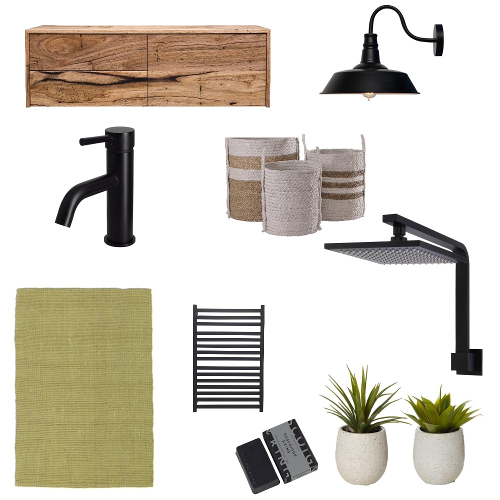 Brad Bathroom Mood Board by EYount on Style Sourcebook