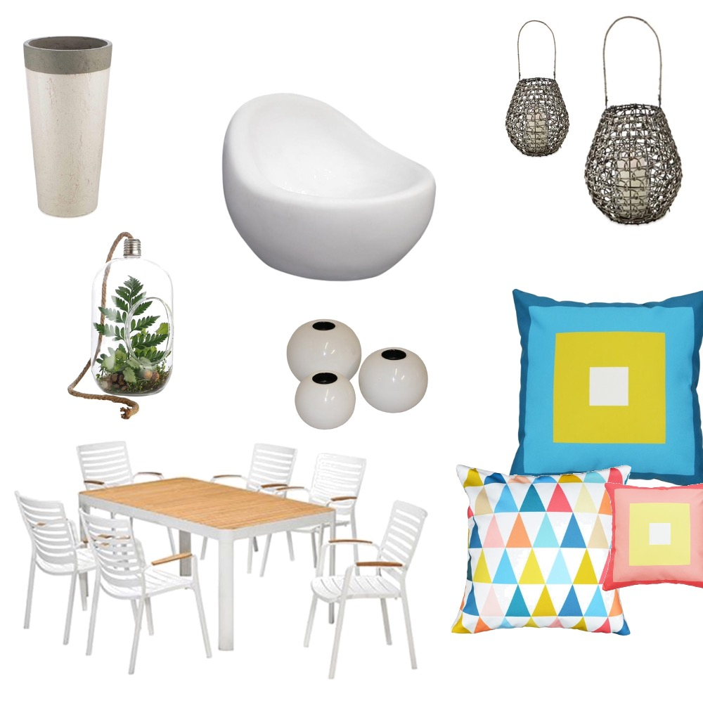 Beach house deck Mood Board by EYount on Style Sourcebook