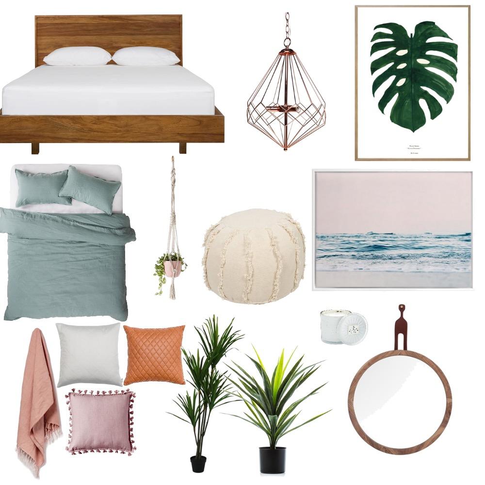 Retro bedroom vibes Mood Board by kimberleywatson on Style Sourcebook