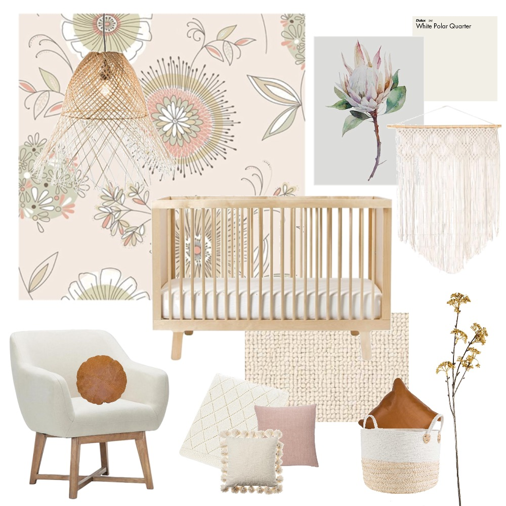 Native Nursery Mood Board by Aliciapranic on Style Sourcebook