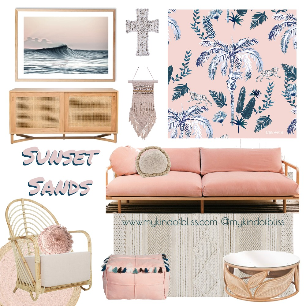 SUNSET SANDS Mood Board by My Kind Of Bliss on Style Sourcebook