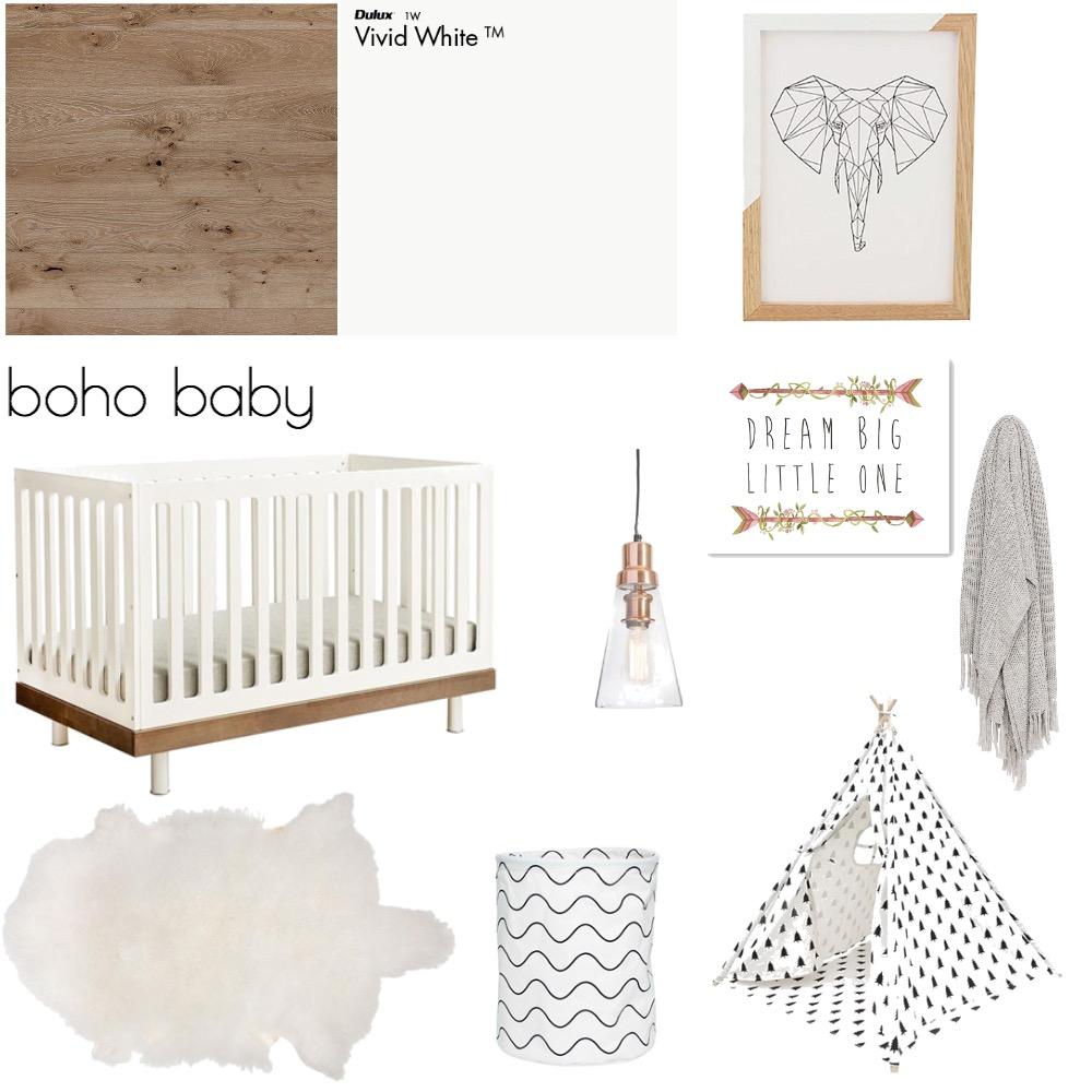 Boho Baby Mood Board by kimberleywatson on Style Sourcebook