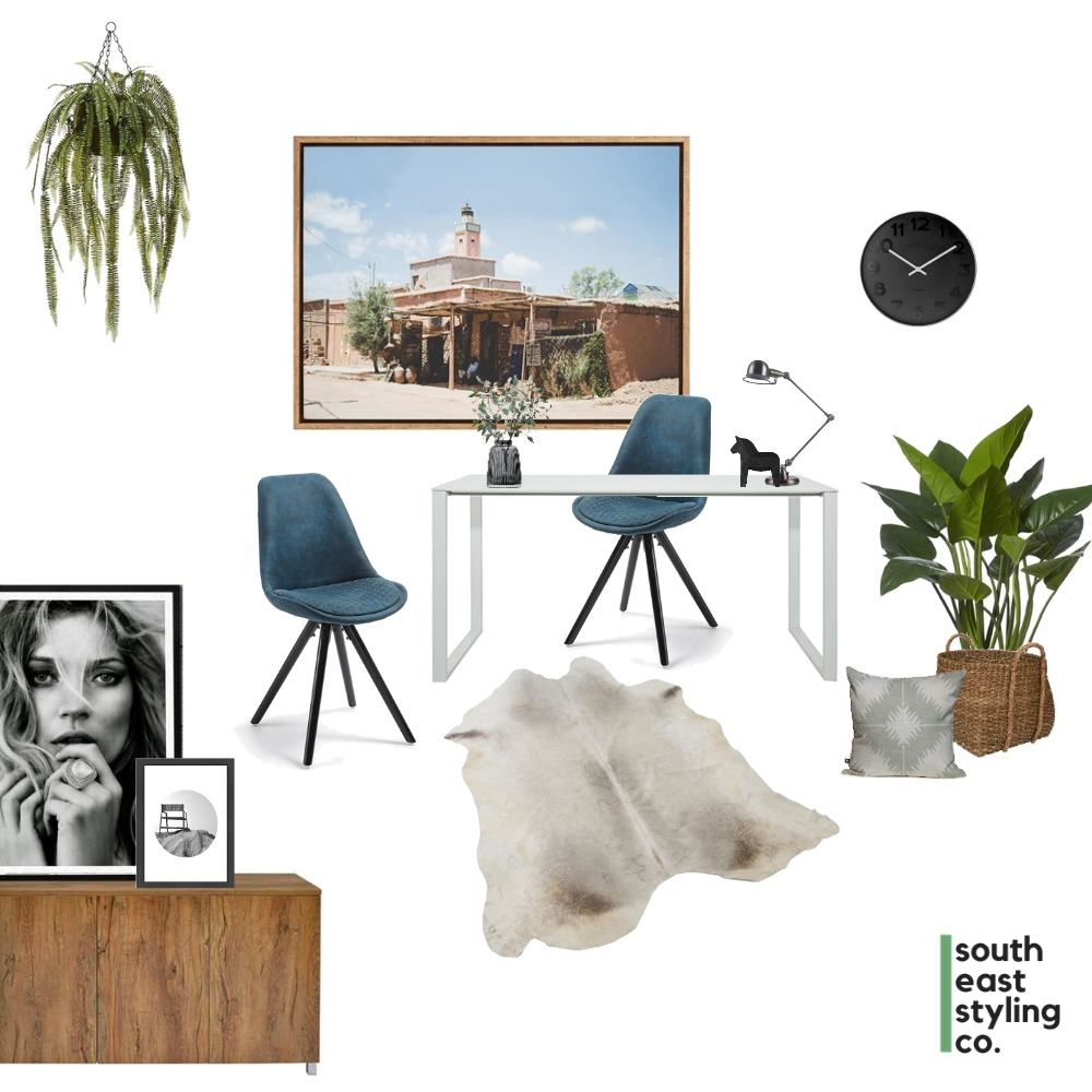 Study Styling 1 Mood Board by South East Styling Co.  on Style Sourcebook