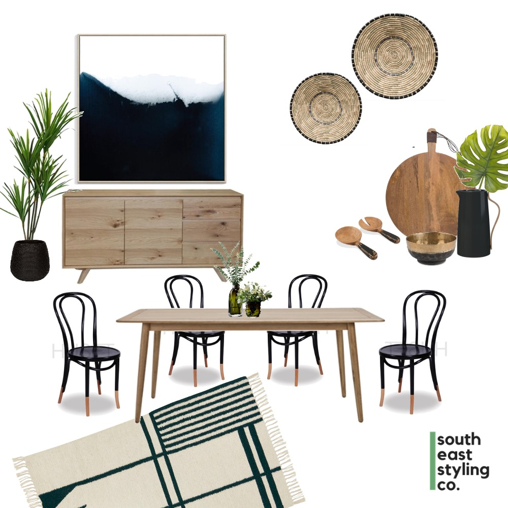 Dining Styling 1 Mood Board by South East Styling Co.  on Style Sourcebook
