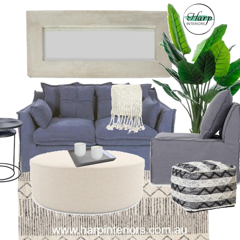 Hamptons Chic Interior Design Mood Board by Harp Interiors on Style Sourcebook