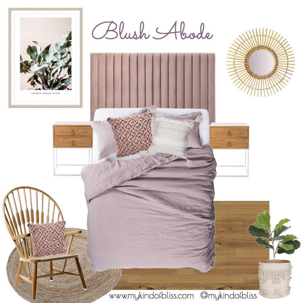 BLUSH BEDROOM Mood Board by My Kind Of Bliss on Style Sourcebook