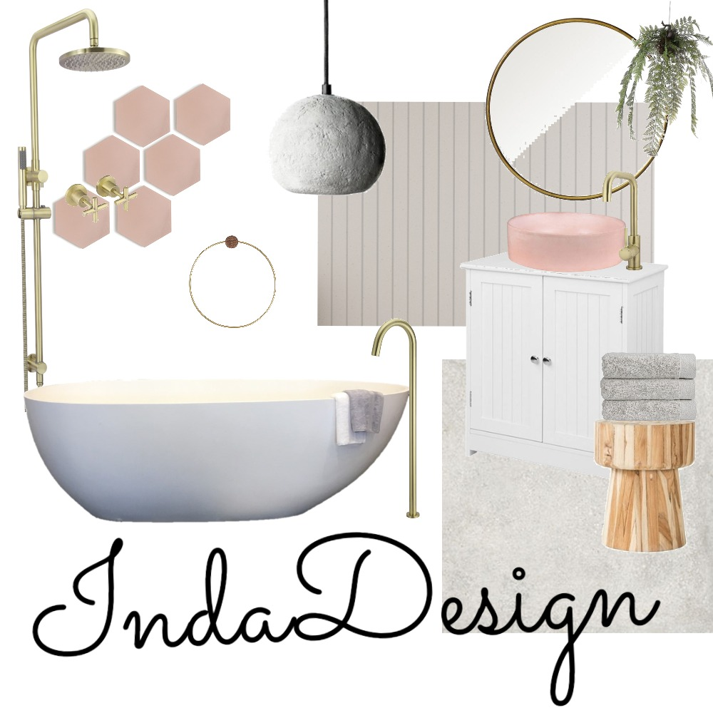 Bathroom glam Mood Board by IndaDesigns on Style Sourcebook