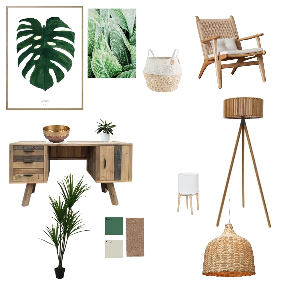 Green and wood Mood Board by AmyClements on Style Sourcebook