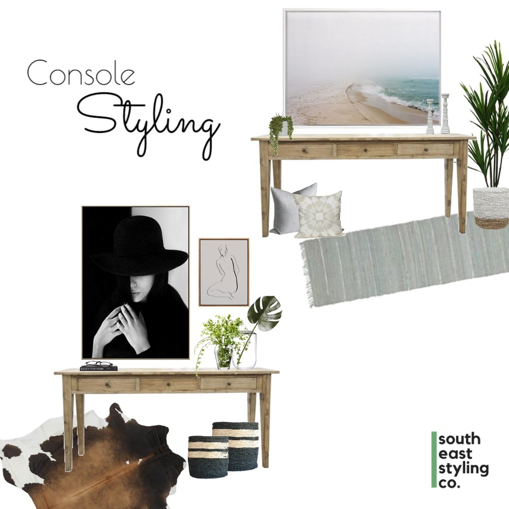 Console Styling 1 Mood Board by South East Styling Co.  on Style Sourcebook