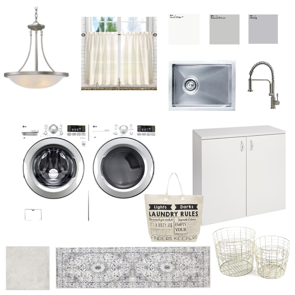 laundry room Interior Design Mood Board by amf on Style Sourcebook