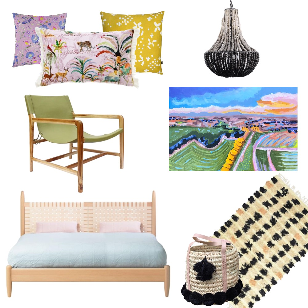 Colour Bomb Mood Board by Amanda_Bennetts_Art on Style Sourcebook