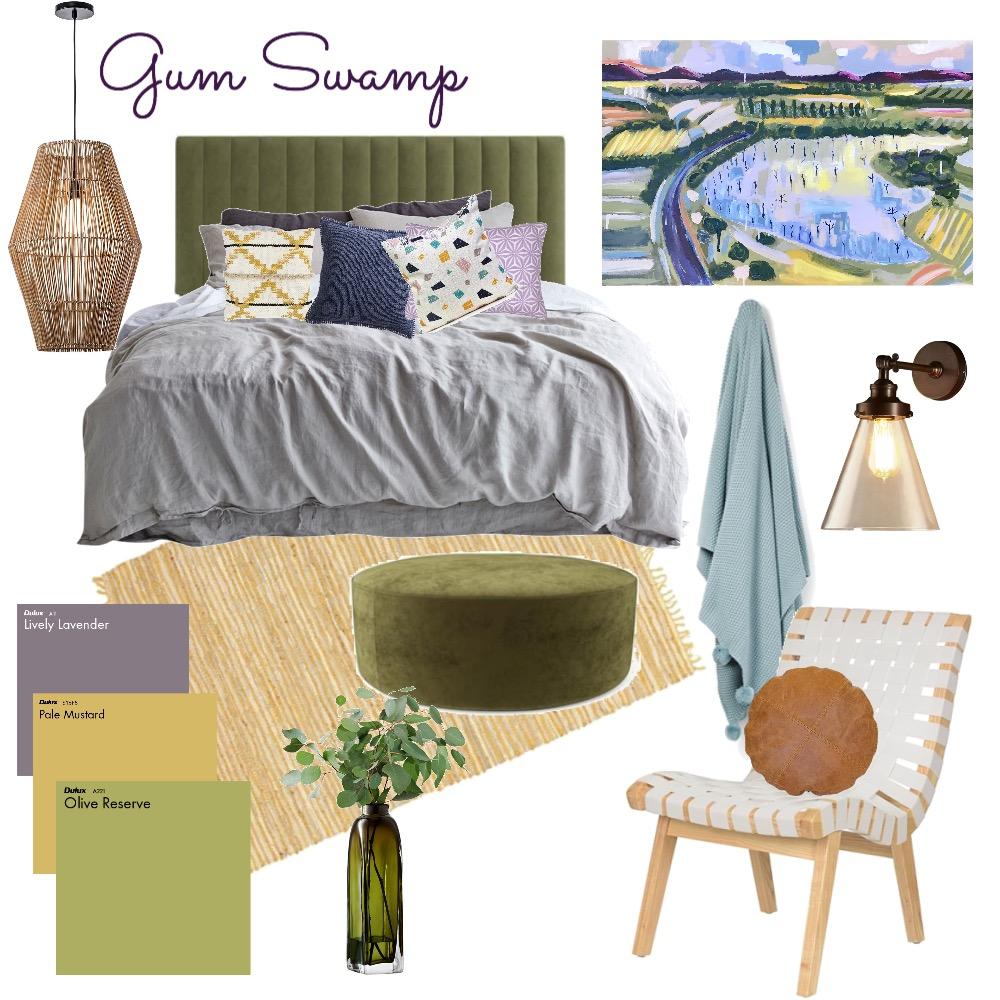 GUM SWAMP Mood Board by Amanda_Bennetts_Art on Style Sourcebook