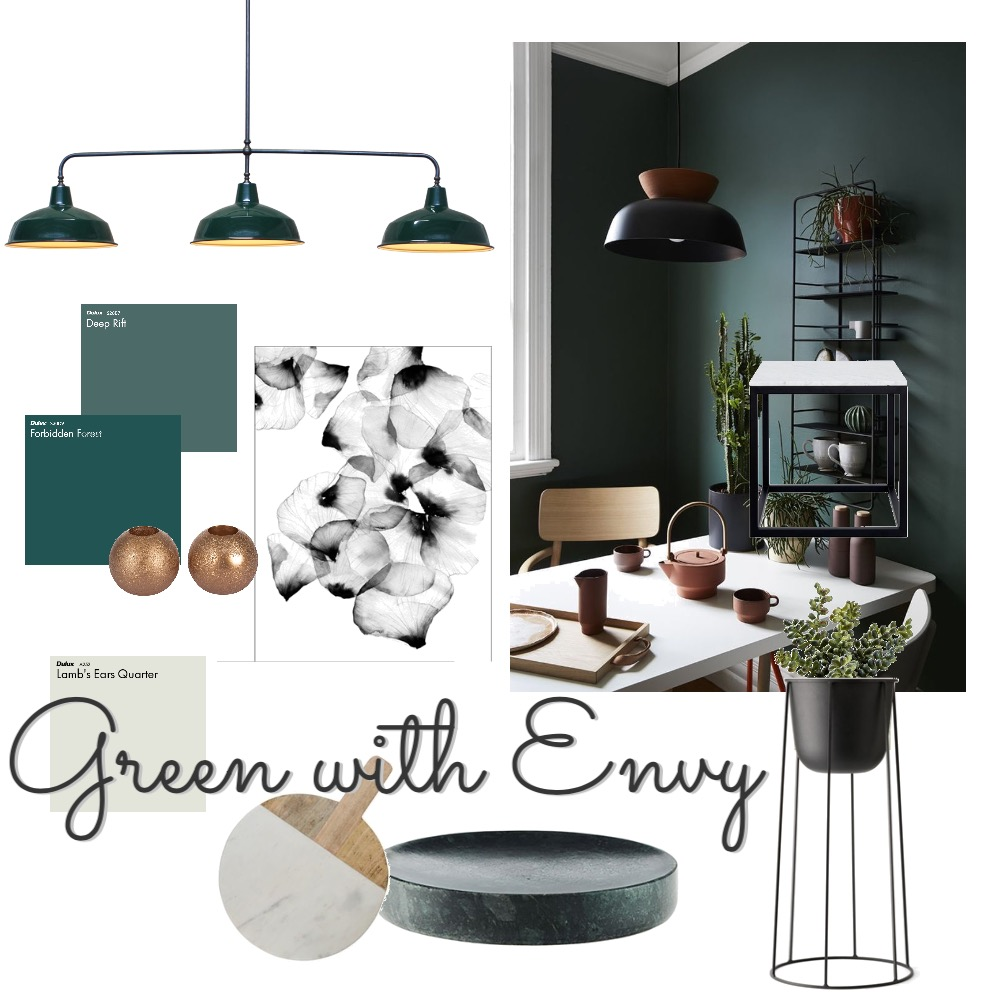 Green Mood Board by thebohemianstylist on Style Sourcebook