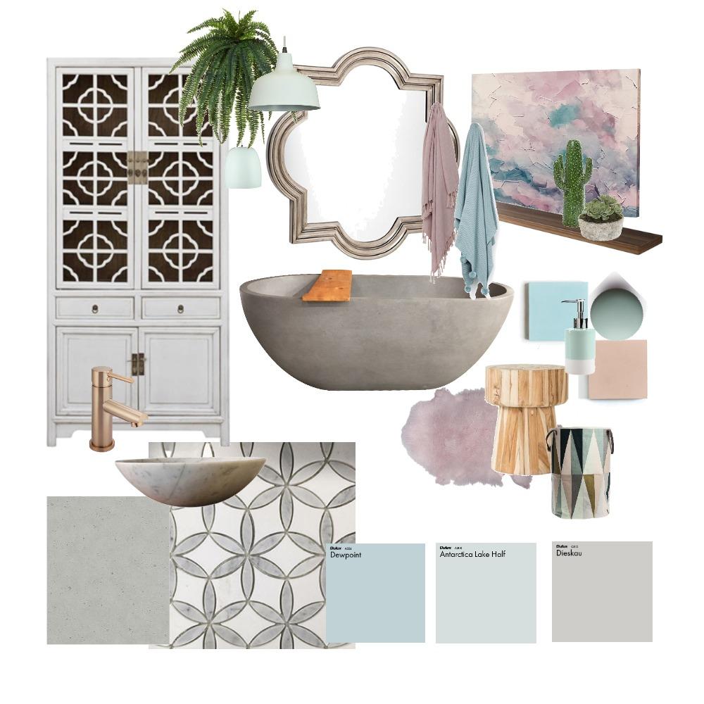 Pastel Persuasion Mood Board by Jodie Cooper Design on Style Sourcebook