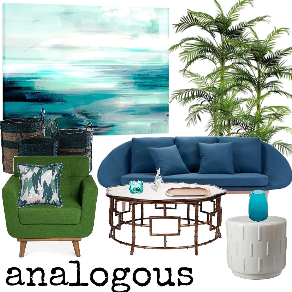 analogous Mood Board by PamWhit on Style Sourcebook