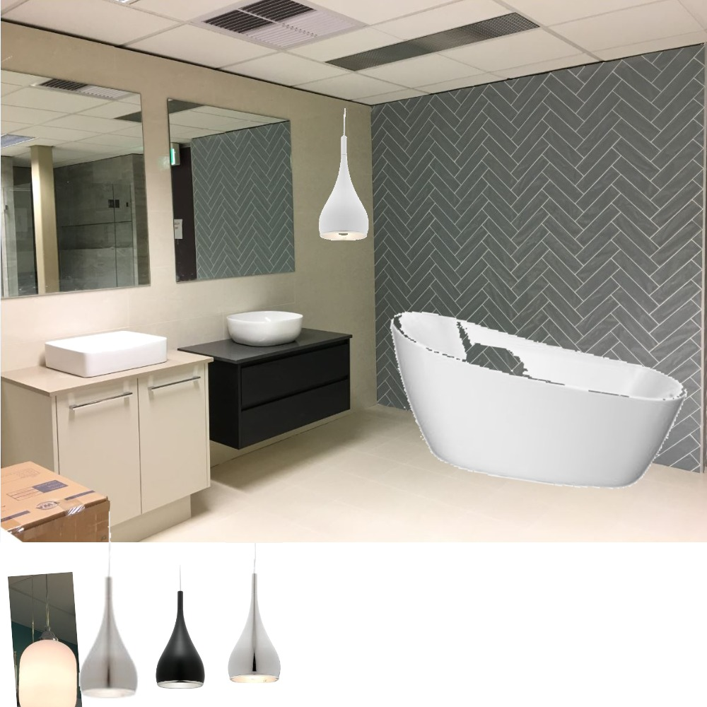 bathroom display Mood Board by annef6722 on Style Sourcebook