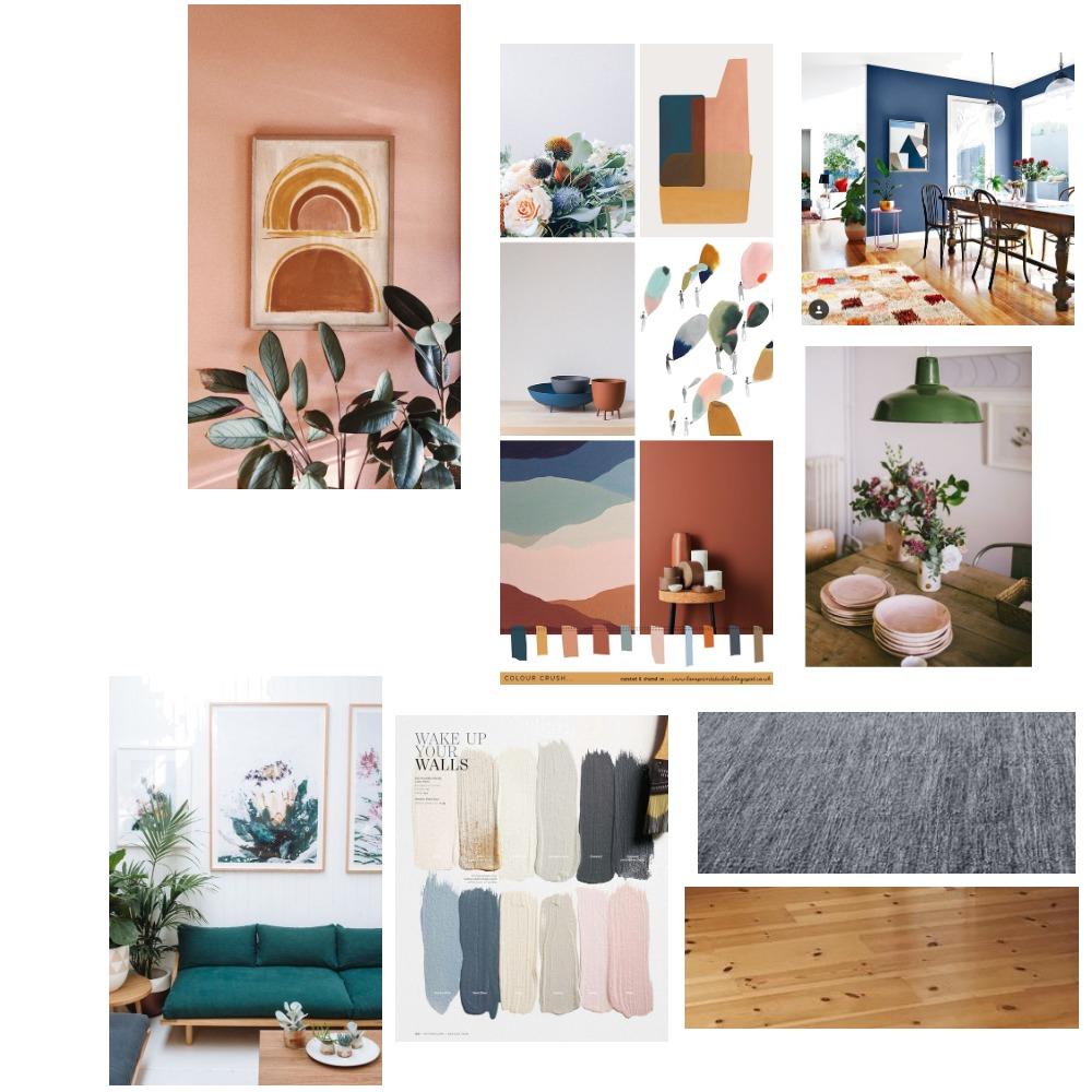Colour palette Mood Board by AandD on Style Sourcebook