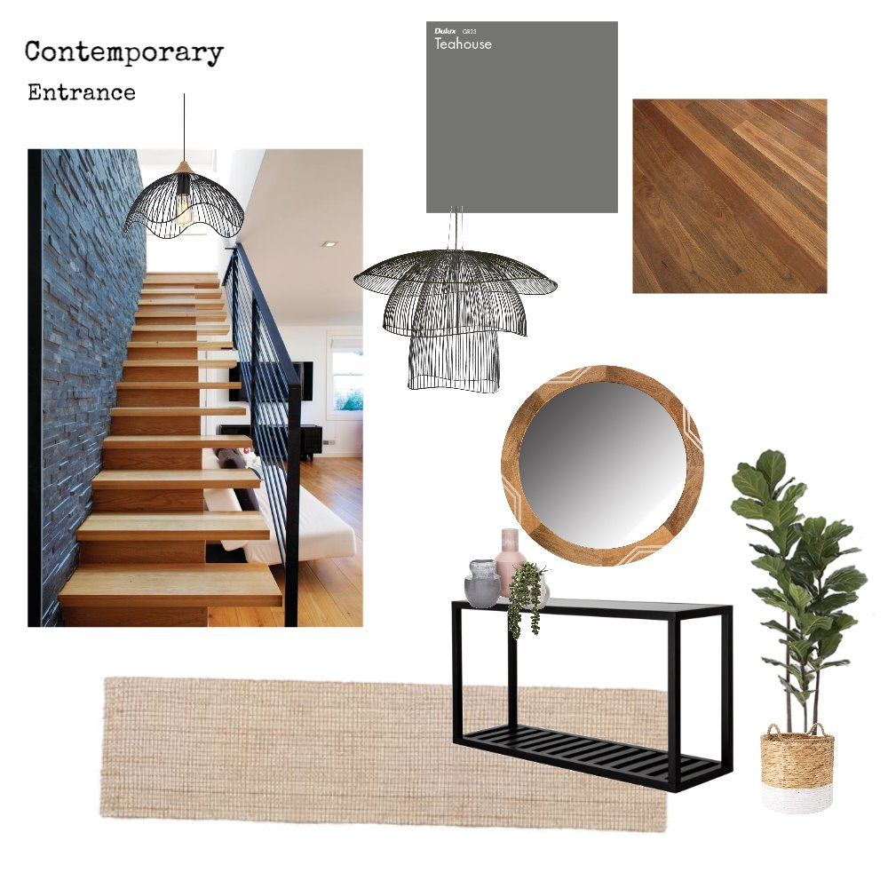 entrance Mood Board by karleepaterson on Style Sourcebook