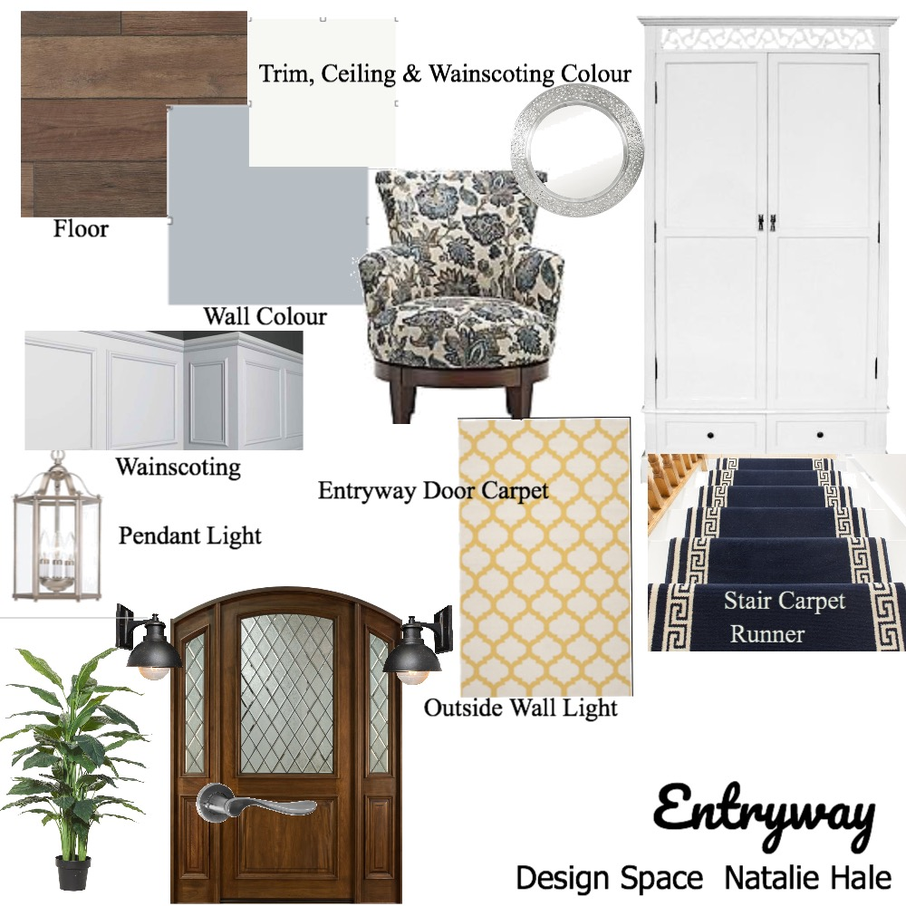 Entryway Mood Board by Natalieenmh on Style Sourcebook