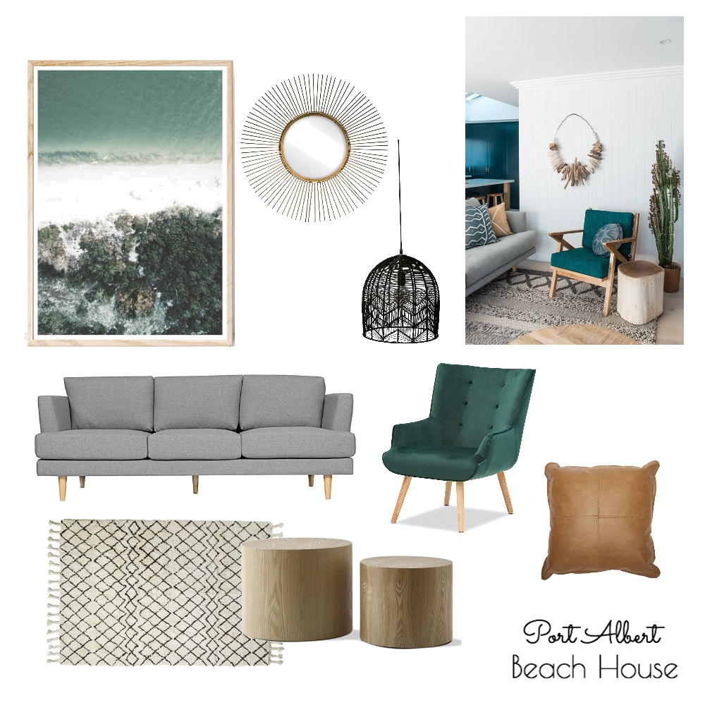 Port Albert Beach House Mood Board by modernlovestyleco on Style Sourcebook