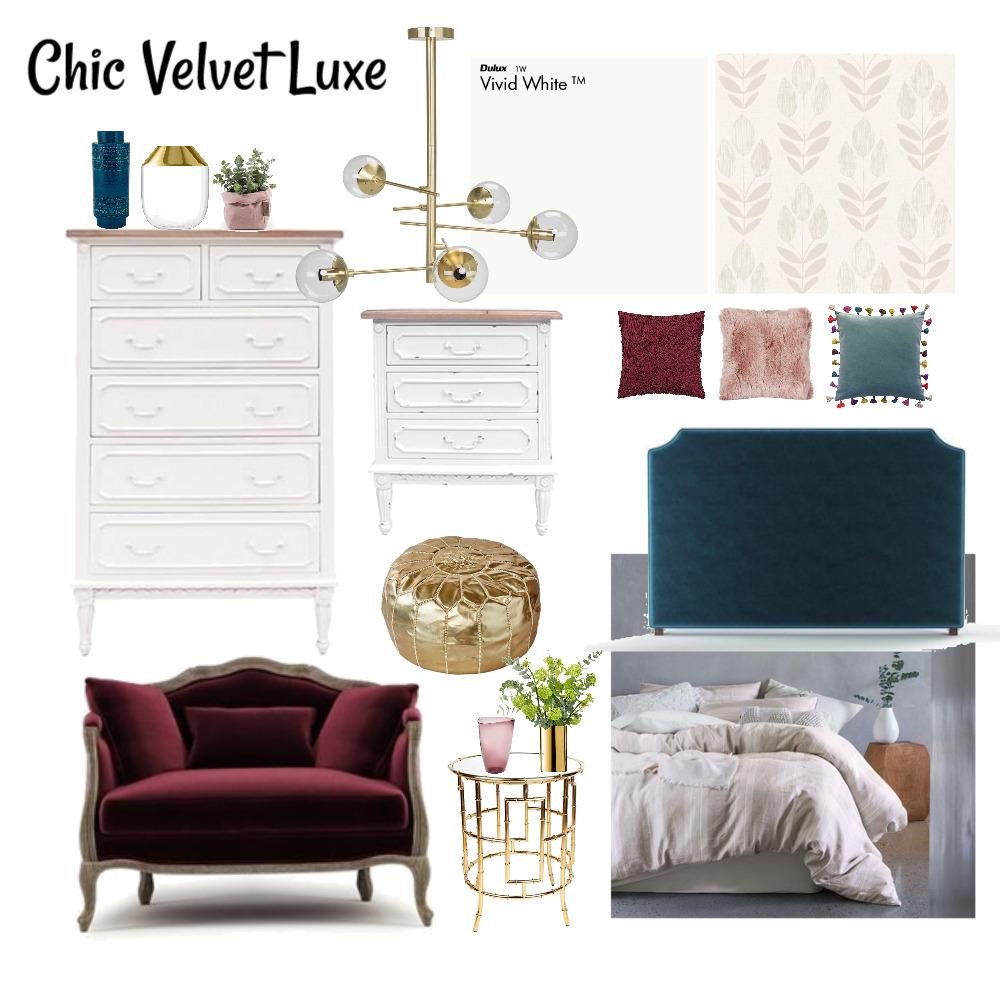 Chic Velvet Luxe Mood Board by rwoodbridge on Style Sourcebook