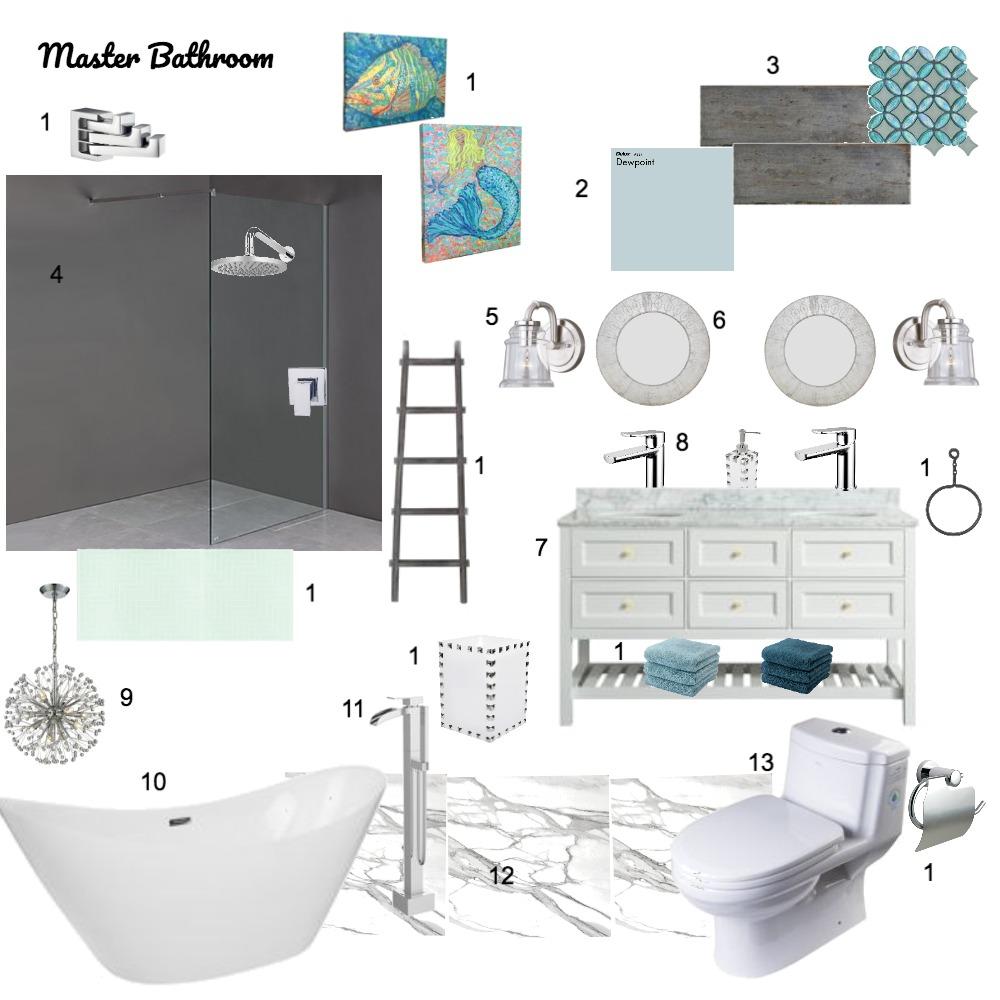 Master Bathroom Mood Board by kgamble on Style Sourcebook