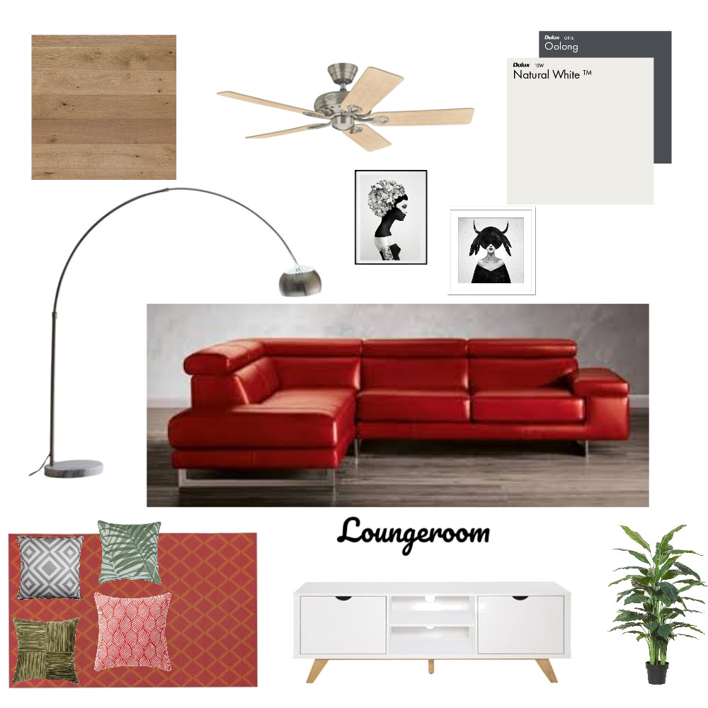 loungeroom Mood Board by anja on Style Sourcebook