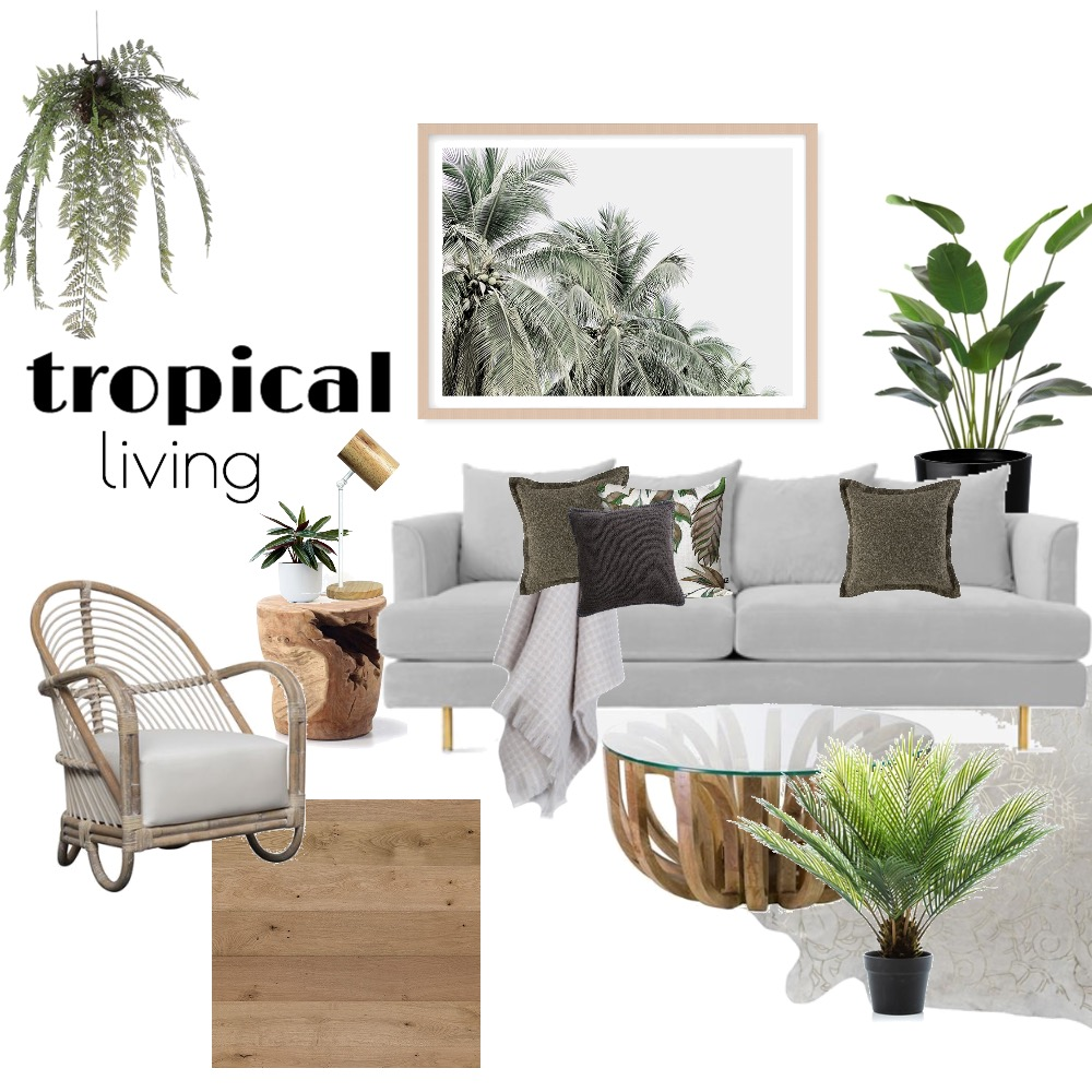 tropical living Mood Board by Aliciapranic on Style Sourcebook
