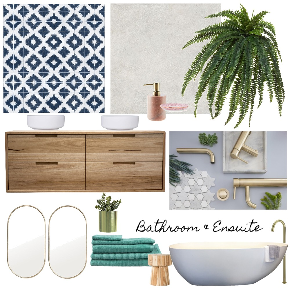 Bathroom & Ensuite Mood Board by Marlowe Interiors on Style Sourcebook
