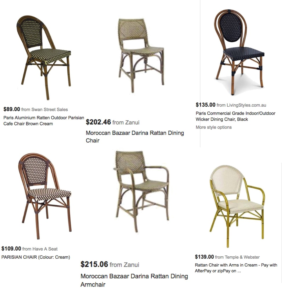 Dining chairs Mood Board by Northern Beaches Styling on Style Sourcebook