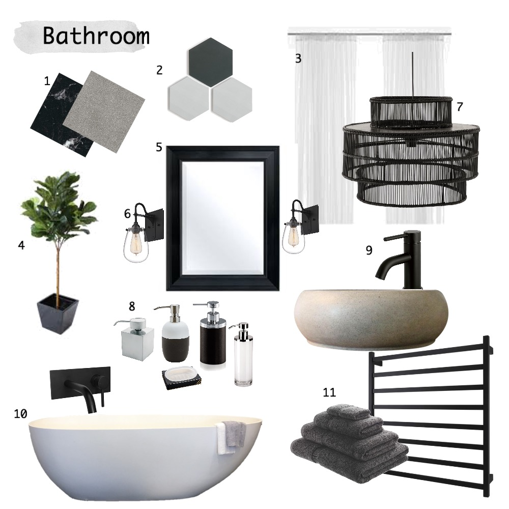 Bathroom Mood Board by charmsdanielle on Style Sourcebook