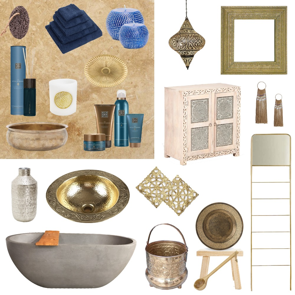 Hammam Project Mood Board by Imsie on Style Sourcebook