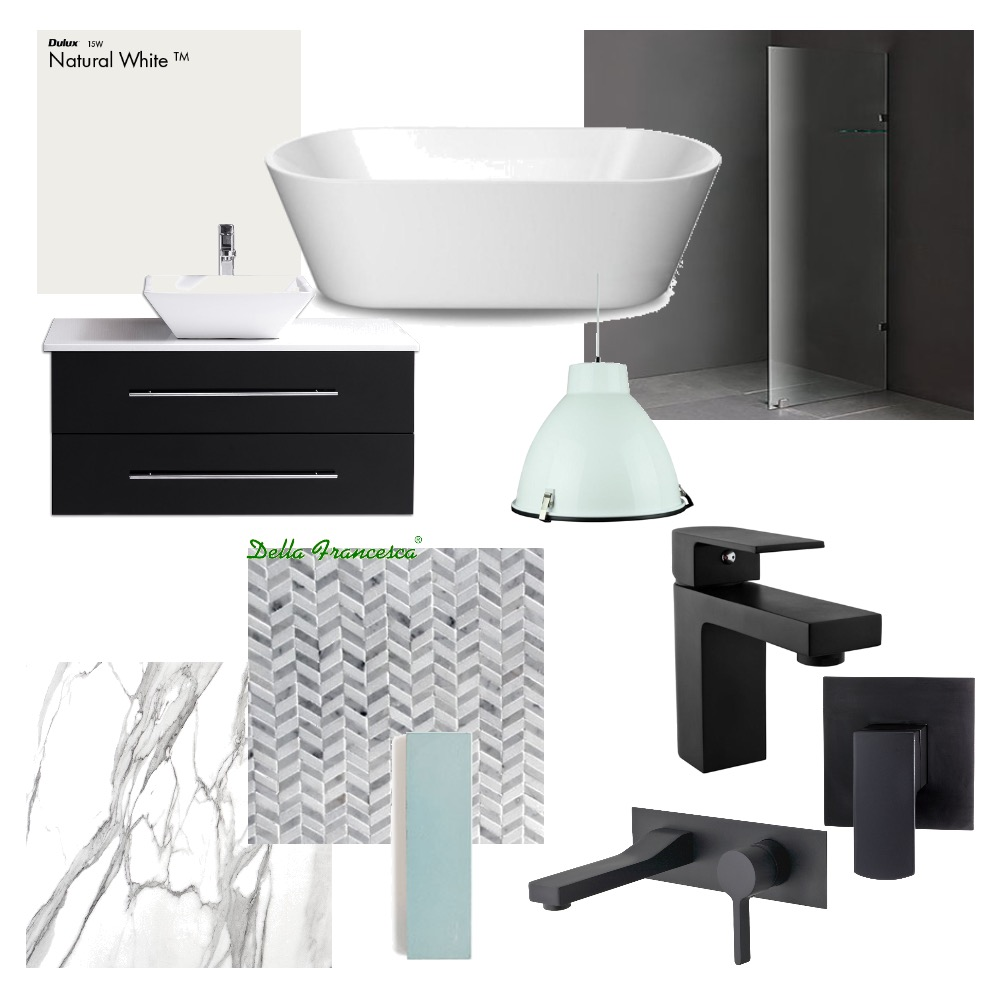 Bathroom Mood Board by 360 degrees interior design on Style Sourcebook