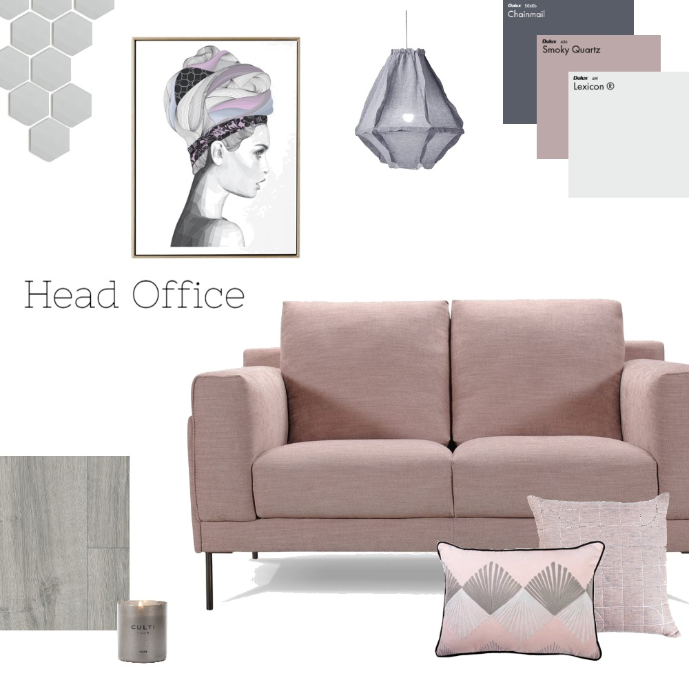 Head Office Mood Board by TheBlushCollective on Style Sourcebook