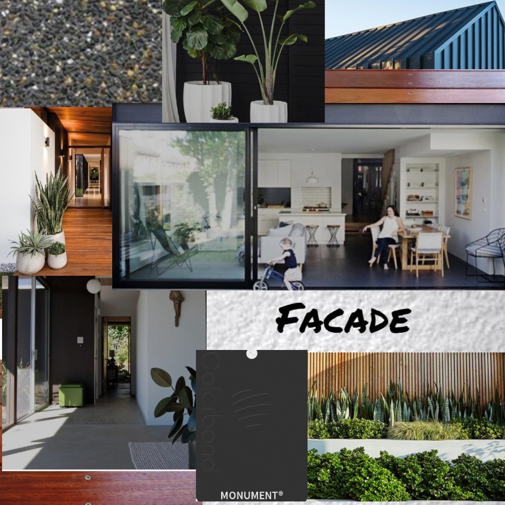Facade Black Timber Mood Board by Marlowe Interiors on Style Sourcebook