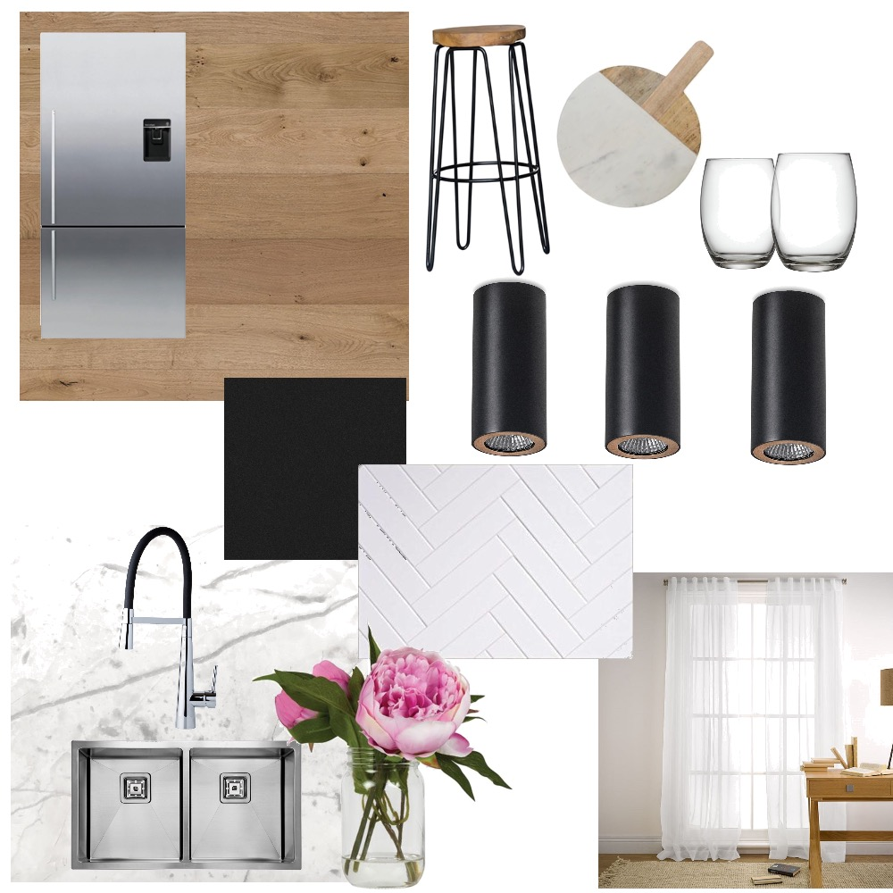 Black and white kitchen Mood Board by Tamara on Style Sourcebook