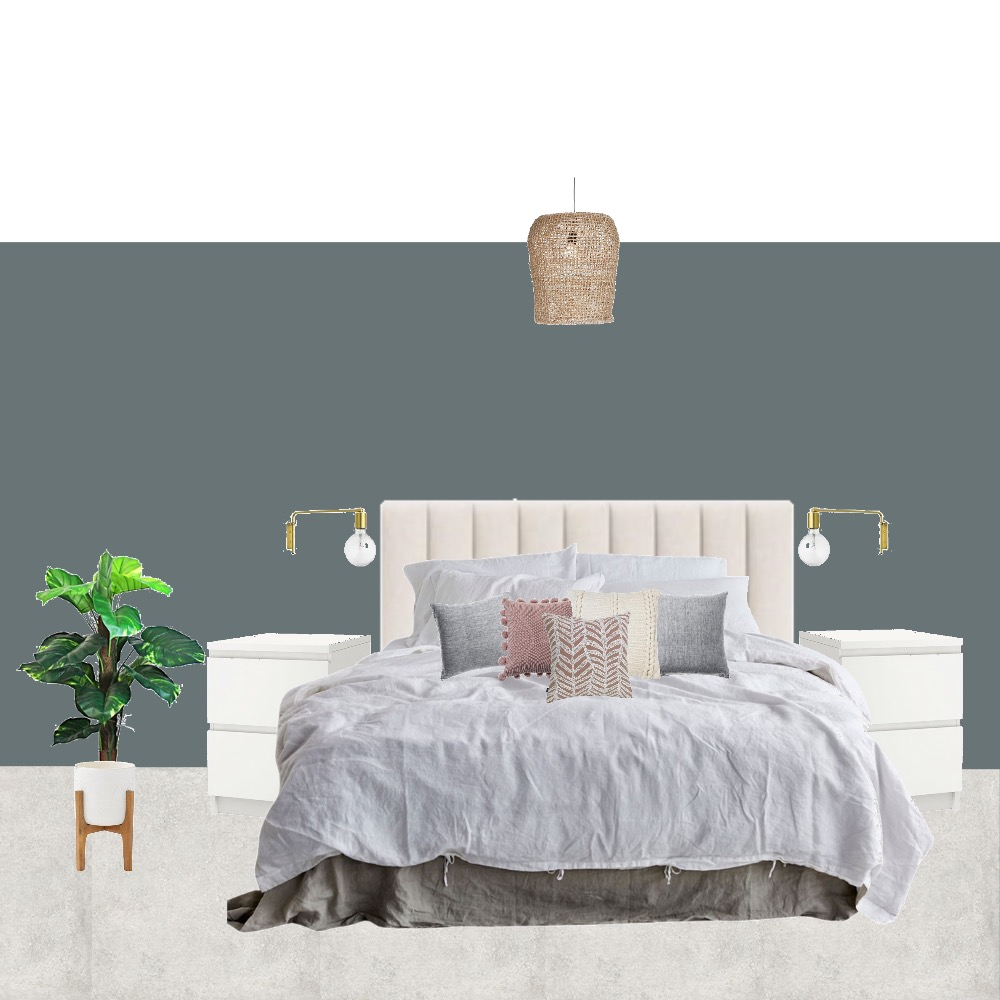 Denise bedroom bed view Mood Board by Jesssawyerinteriordesign on Style Sourcebook