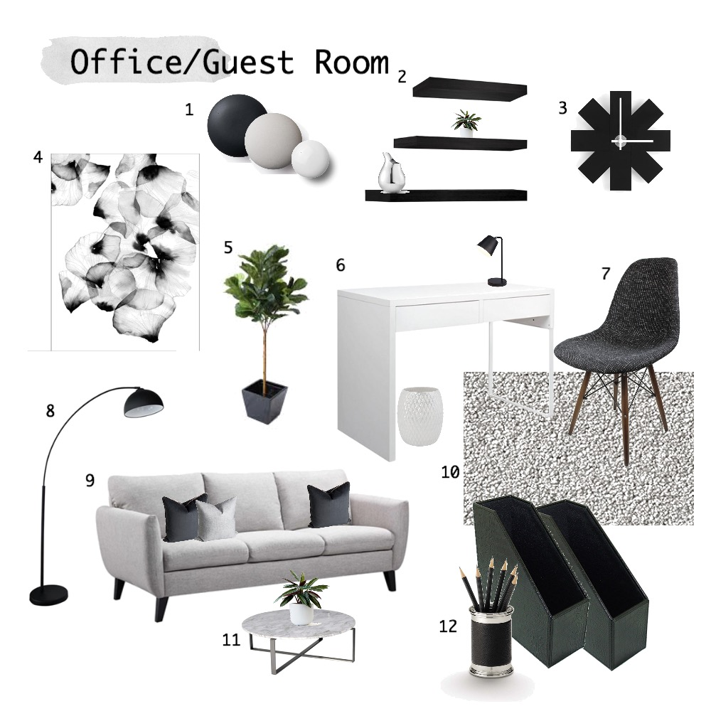 Study/Guestroom Mood Board by charmsdanielle on Style Sourcebook