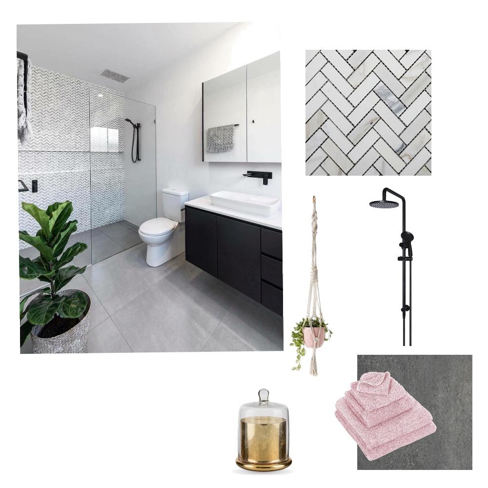 Ensuite Mood Board by Tamara on Style Sourcebook