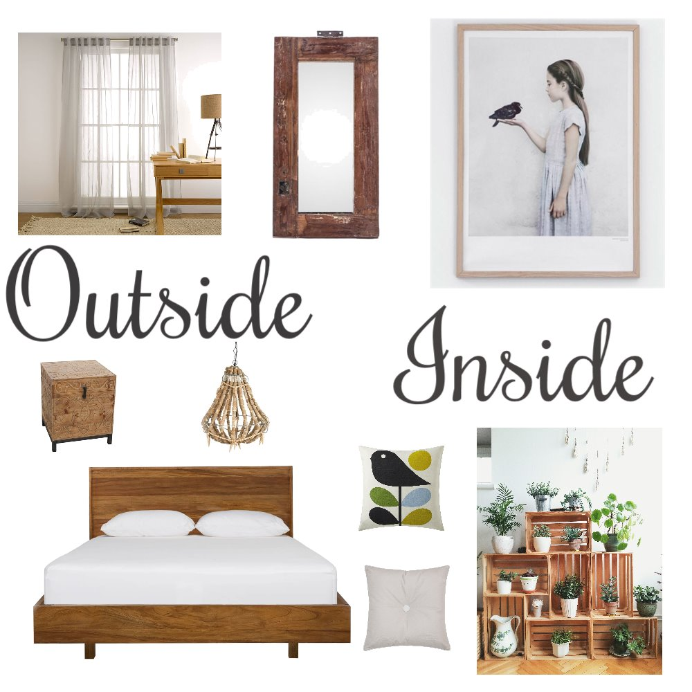 Bringing outside inside Mood Board by Bubbles on Style Sourcebook