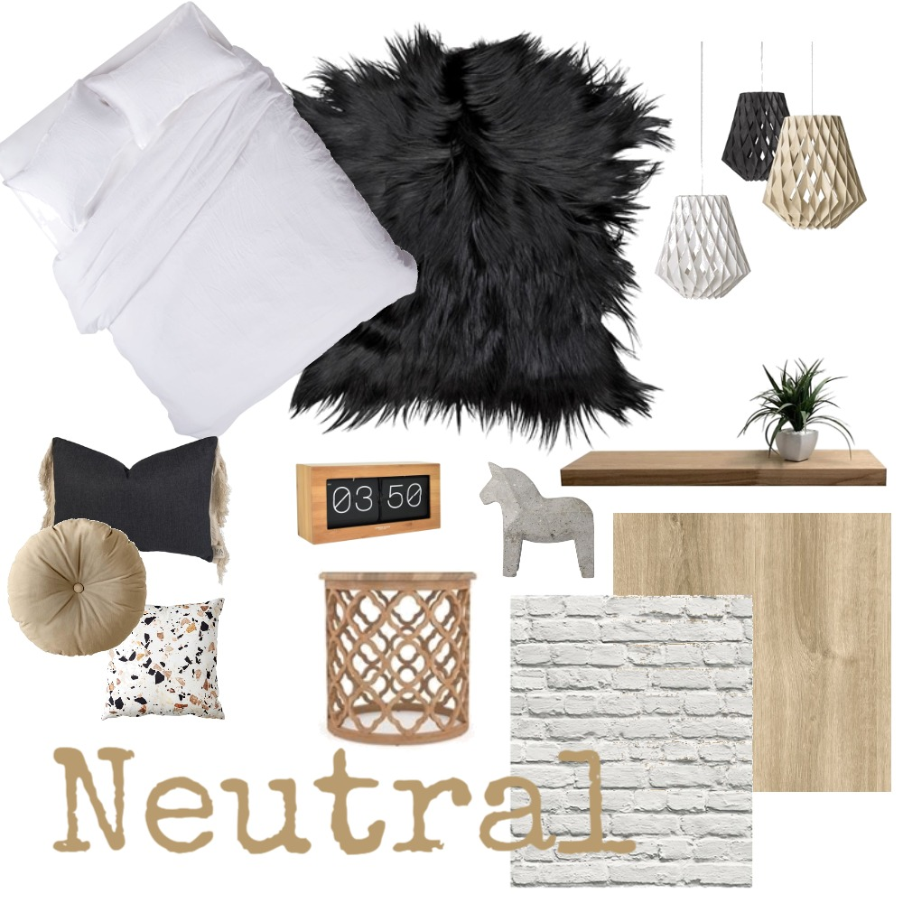 Neutral chic Mood Board by iDesign Interiors on Style Sourcebook
